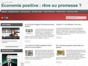 Site web : Economie positive, rêve ou promesse ?