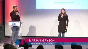 Marjan Gryson : avec Touché, l'agressivité des prisonniers se transforme en force
