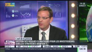 Investisseurs institutionnels et assureurs : leur stratégie pour le climat