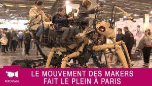 Reportage : Le mouvement des makers fait le plein à Paris