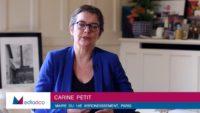 """""""Nous allons développer l'urbanisme temporaire sur le Grand Paris"""", assure la maire Carine Petit"""