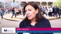 """Anne Hidalgo : """"Nous allons utiliser le savoir-faire des Grands Voisins à Bercy-Charenton"""""""