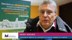 """Henri Noguès : """"Il est nécessaire de diversifier les formes de financement de l'innovation sociale"""""""