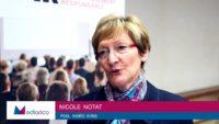 """Nicole Notat : """"Un grand pas en avant"""" pour l'entreprise et l'engagement sociétal"""