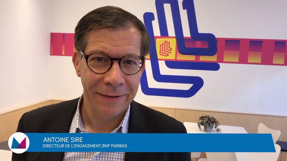 Antoine Sire : «Les employeurs doivent contribuer à l'inclusion sociale»