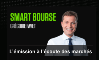 Smart Bourse, une émission de Grégoire Favet